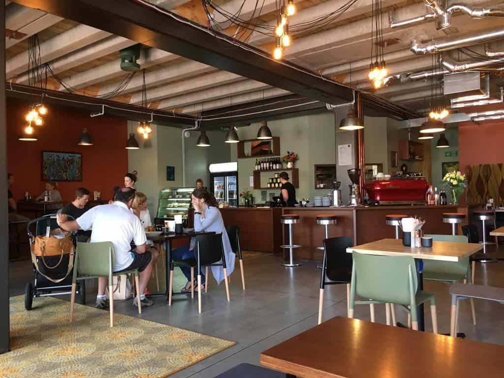 Café Petone – Faith & Co - 50's bar stools